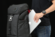 "BackPAIX is equipped with 30 litres of cargo space and a side pocket that easily fits one 15"" laptop and one 10"" tablet."