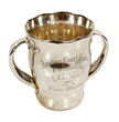 Fiske Warren Sterling Silver Tennis Trophy