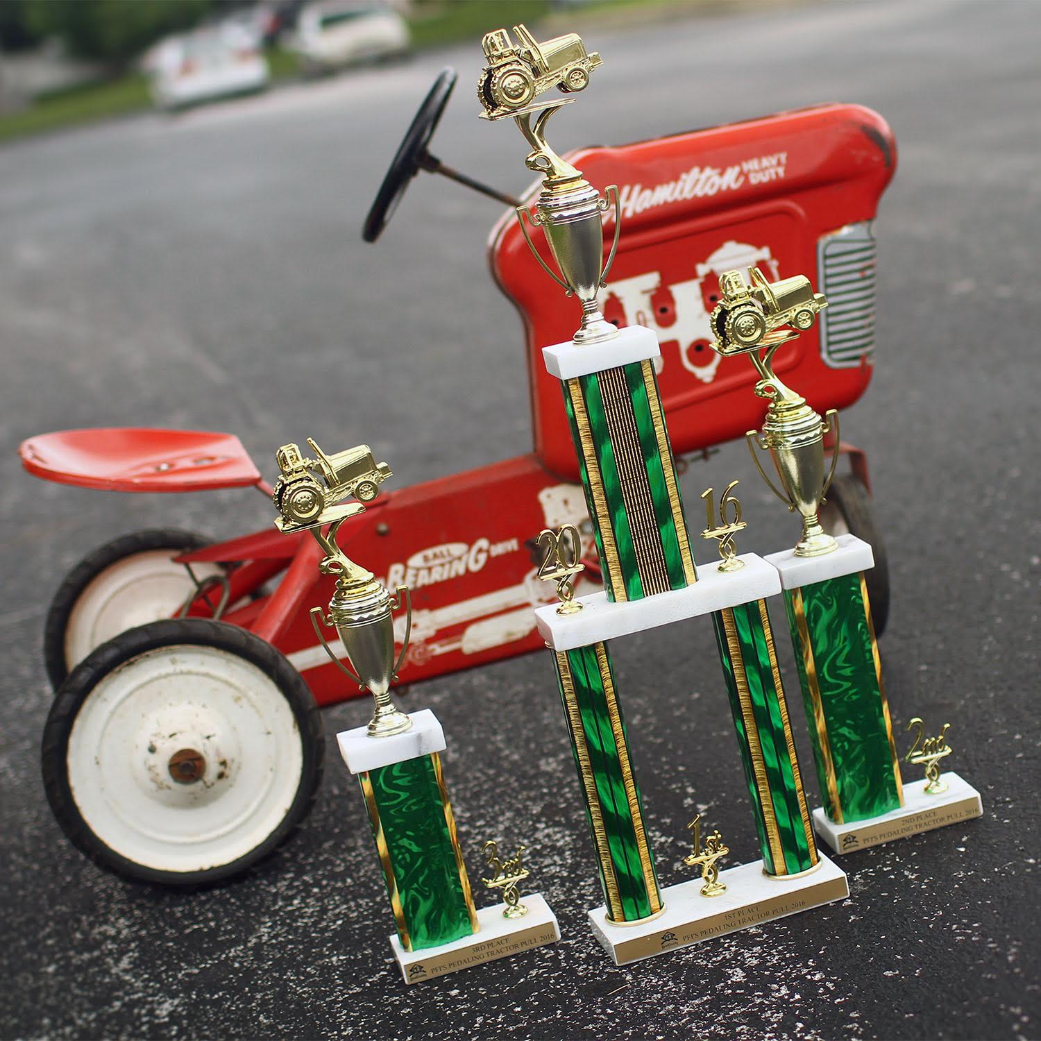 PFI's Pedaling Tractor Pull Kicks off the Magnificent Mule