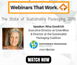 StandUpPouches.net Hosts On-Demand Webinar with Sustainable Packaging Coalition Director Nina Goodrich