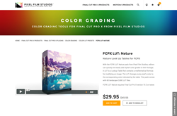 Pixel Film Studios Plugin - FCPX Nature - Final Cut Pro X