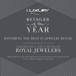 Royal Jewelers in Andover Massachusetts Named By Luxury Magazine As One Of The Top Five Retailers In The Country.