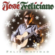 "Album art from Jose Feliciano's breakthrough song ""Feliz Navidad"""