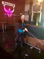 Faultline Bar Co-Owner Ruby Nuno Getting Down and Dirty