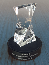 Amphenol Awards Heilind with Best North American Performance