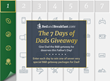 "BedandBreakfast.com Offers First-Ever ""7 Days of Dad"" Sweepstakes"