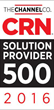 CentraComm Named to CRN's 2016 Solution Provider 500 list for Top IT Providers