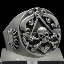 biker skull rings