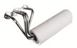 Stainless Works Header Paper Towel Holder
