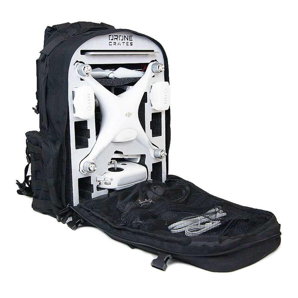 phantom dji backpack drone case crates cases global expands line