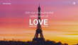Monumental Love: HomeAway Invites the World to Celebrate Love in its Eiffel Tower Apartment on July 2