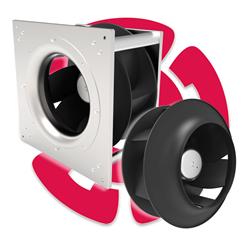 air movement, OEM fans, cooling, HVAC, low-noise, high-efficiency fans