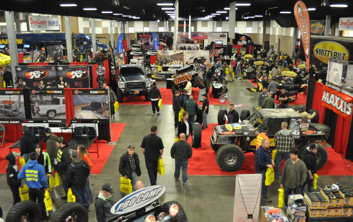 4 Wheel Parts Truck Jeep Fest Touches Down In Ontario
