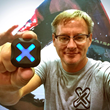 Xensr Founder and CEO David Troup with a Xensr Air 3D GPS