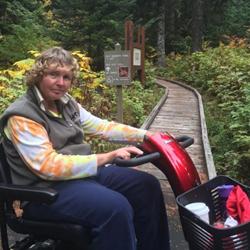 Jackie VandenBerg has multiple system atrophy a rare neurodegenerative disorder