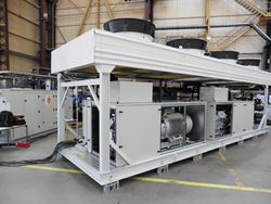 The Azanechiller 2.0 in Star Refrigeration's Westway factory