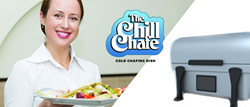 The Chill Chafe' is a kitchen invention designed to provide an efficient way of preventing food from spoiling