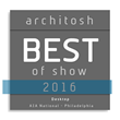 """Vectorworks Architect 2016 Receives Architosh's """"BEST of SHOW"""" Award"""