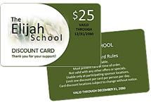 fundraising card printing