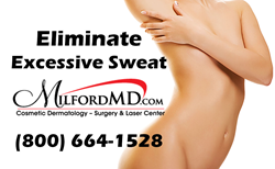 Reduce excessive underarm sweating (hyperhidrosis) with the help of cosmetic surgeon Richard E Buckley, MD.