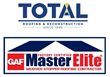 Total Roofing and Reconstruction, GAF Master Elite Roofing Contractor, Receives Consumer's Choice Award for Business Excellence