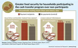 Cash Transfers in Zambia and Food Security
