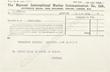 Titanic Marconigram-Mr. J. Bruce Ismay is under an opiate