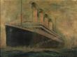 Rare Original Titanic Color Lithograph Promotional Poster for auction 6/15/16