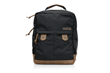 Bolt Backpack—black ballistic nylon with grizzly leather details