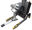 Packline Materials Handling Announce New Roll Handling Equipment With Extended Vertical Spindle Attachment for Handling Longer Rolls