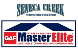 Seneca Creek Roofing Company in MD.