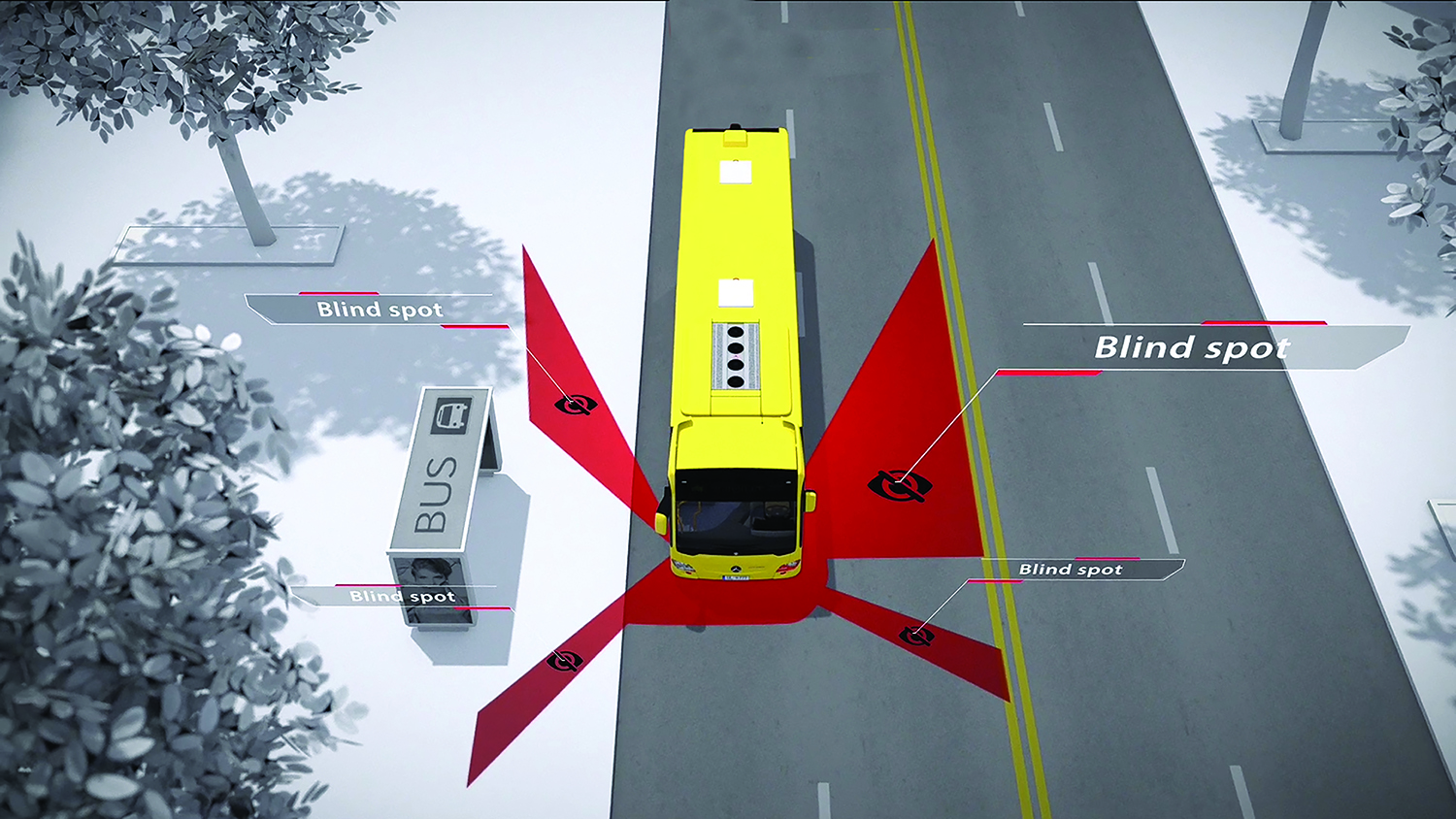 Rosco Demos Mobileye Shield+ Collision Avoidance ...