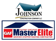 Johnson Construction Company LLC, One of Few Companies That Promises and Delivers One-Day Roof Installations, Gets GAF Master Elite Certification