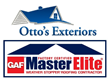 Otto's Exteriors, GAF Master Elite Roofing Contractor, receives GAF Presidents Club Award