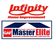 Infinity Home Improvement, a Full Service Home Improvement Company, Features GAF Master Elite Roofing Contractor Status