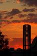 Husson University's belltower.
