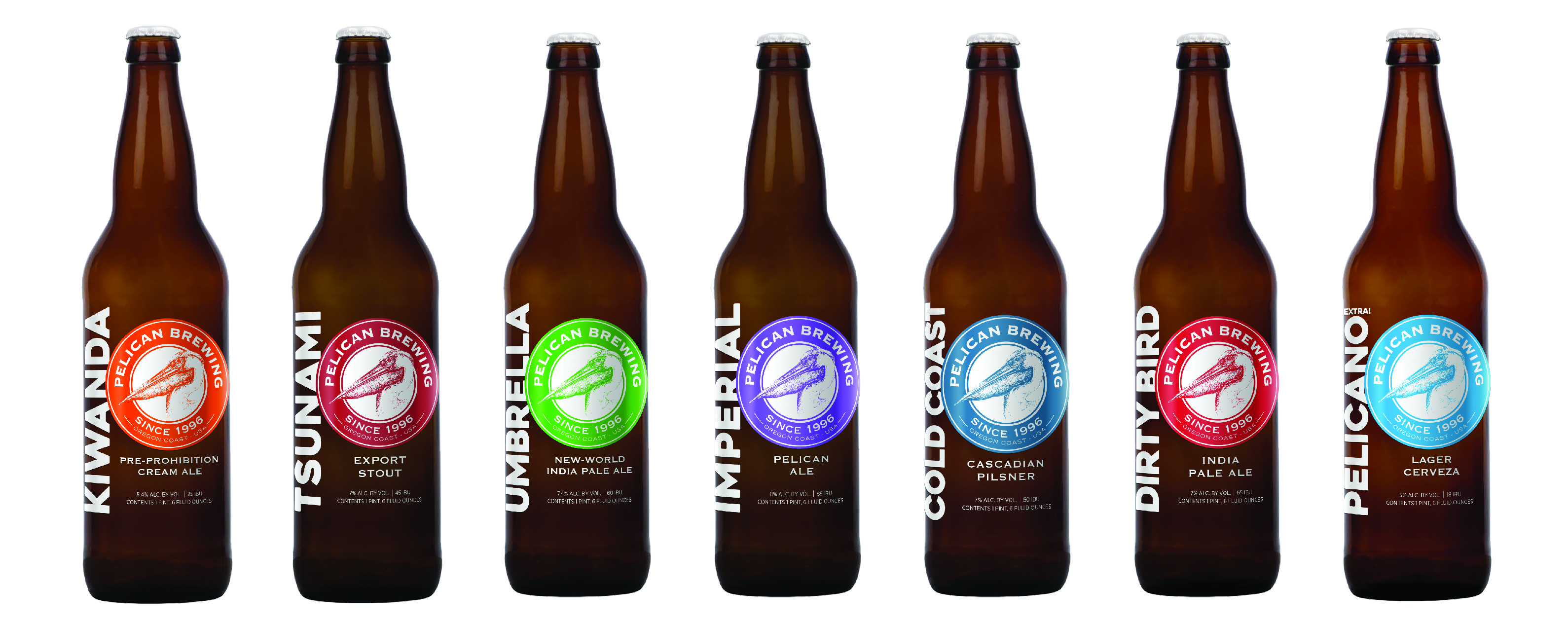 pelican brewing company unveils brand refresh to reflect its coastal roots and intentional
