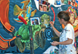 Hasbro Children's Hospital Chooses Vycom's Celtec® for Murals that Create a Less Stressful Environment for Children