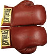 Everlast Boxing Gloves signed by Muhammad Ali