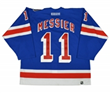 Mark Messier Autographed Game Worn Rangers Jersey from 911 Tribute Game at MSG