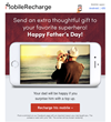 Expats Are Invited on MobileRecharge.com Facebook page to Win a $10 Mobile Top Up just before Father's Day
