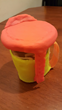 While regular disposable cups can be quite difficult to hold due to its lack of a heat barrier design, this invention allows people to hold on to a hot beverage without any discomfort.