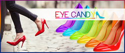 Eye-Candy is a stylish and fashionable  invention which will revolutionize women's footwear.