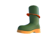 The Bow Boot is a cleaver boot design to keep your feet dryer in wet conditions