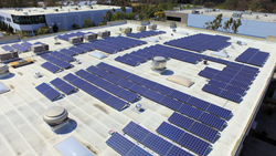 Full Swing Commercial Solar Installation