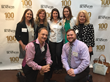 Paul Maccabee and staff at Minnesota Business event honoring Top 100 workplaces.