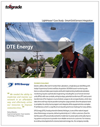 Tollgrade and DTE Energy_Smart Grid Sensors Integration