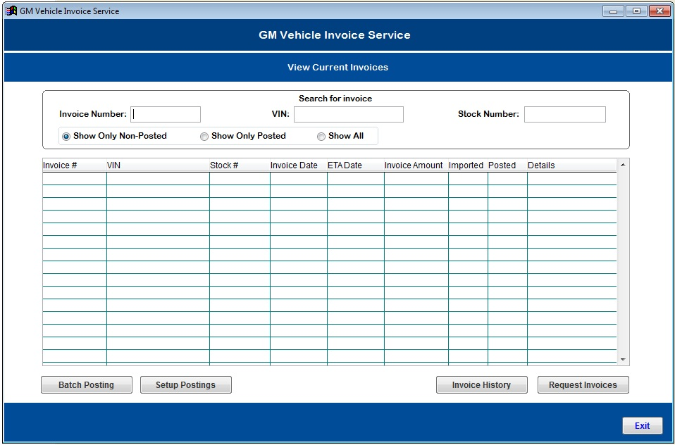 Vehicle Invoice: Dominion Dealer Solutions' Dealer Management System Now