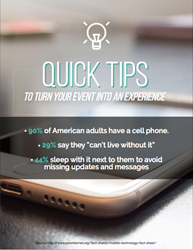 Quick Tips to Turn Your EVENT Into An EXPERIENCE - InCharged cell phone charging stations