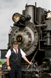 Steam Train Rides at Mt. Rainier Railroad and Logging Museum Depart from Elbe, WA